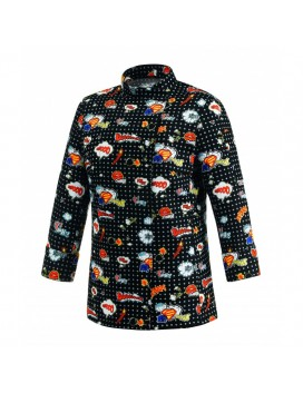Chaqueta de cocinera WOMAN POP ART