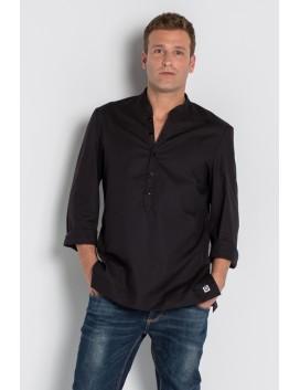 Camisa oxford sr. color negro